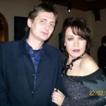 Автор-исполнитель эстрадных песен Александр Филатов и певица Азиза