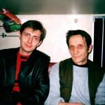 Автор-исполнитель эстрадных песен Александр Филатов и артист Борис Александров