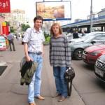 Автор-исполнитель эстрадных песен Александр Филатов и композитор Владимир Евзеров