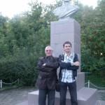 Автор-исполнитель эстрадных песен Александр Филатов и композитор Александр Журбин
