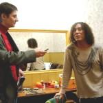 Автор-исполнитель эстрадных песен Александр Филатов и великий артист Валерий Леонтьев