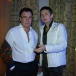 Автор-исполнитель эстрадных песен Александр Филатов и певец Михаил Муромов