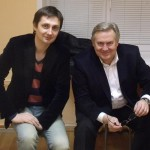 Автор-исполнитель эстрадных песен Александр Филатов и Юрий Стоянов