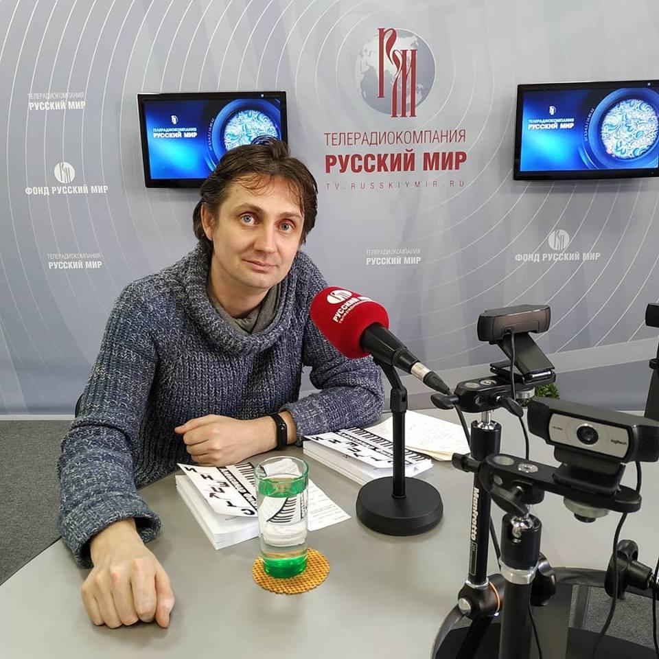 Александр Филатов, поэт, композитор, Ульяновск, гость, телерадиокомпания Русский мир